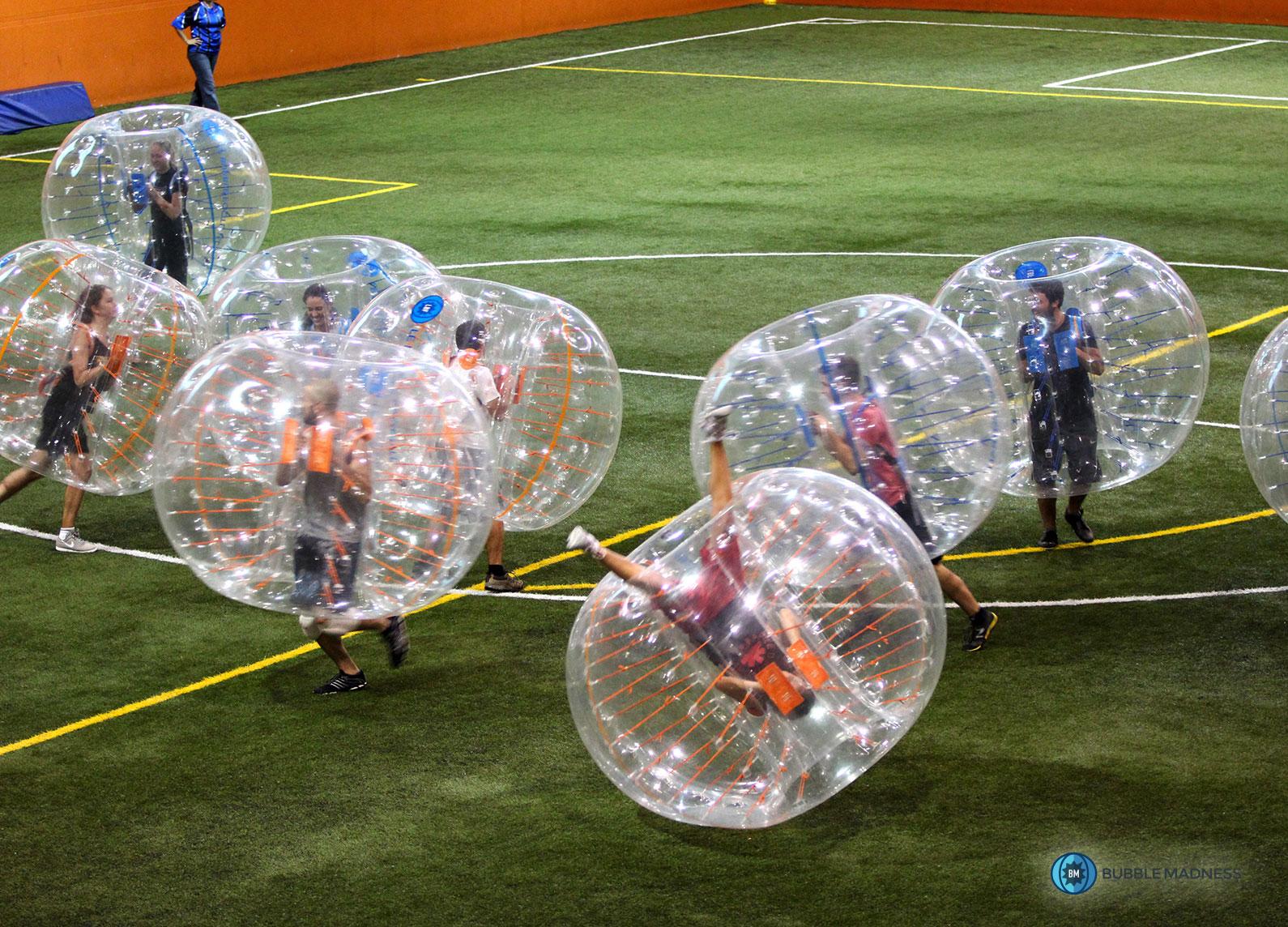 Bubble soccer edmonton